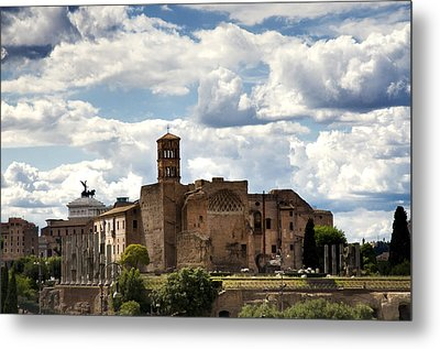 Temple Of Venus And Roma Metal Print