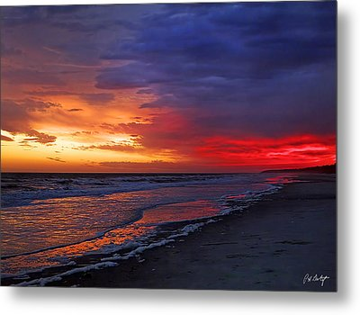 Ten Minutes On The Beach  Metal Print by Phill Doherty