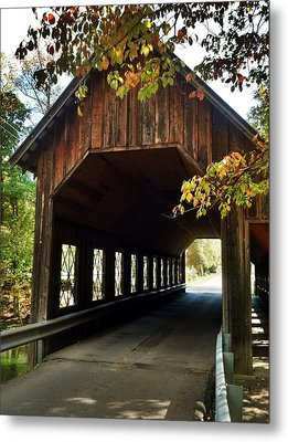 Metal Print featuring the photograph Tennesse Covered Bridge by Janice Spivey