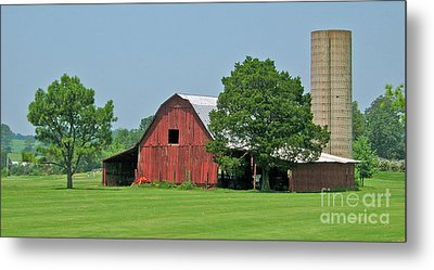 Tennessee Barn Metal Print