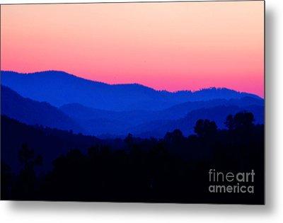 Tennessee Sunset Metal Print by EGiclee Digital Prints