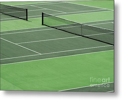 Tennis Court Metal Print