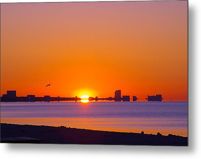 Metal Print featuring the photograph Tequila Sunrise by Brian Wright