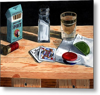 Tequila With Lime No. 4 Metal Print