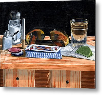 Tequila With Lime No. 5 Metal Print