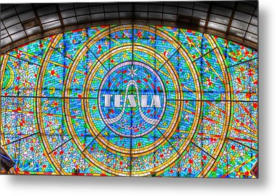 Tesla Metal Print by Barry R Jones Jr