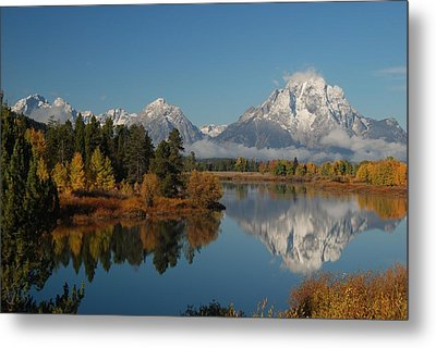 Teton Autumn Metal Print by Craig Ratcliffe