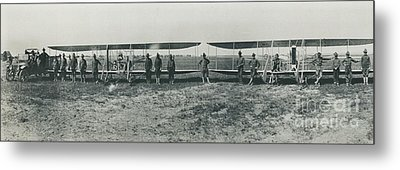 Texas Aero Squadron Metal Print by Padre Art