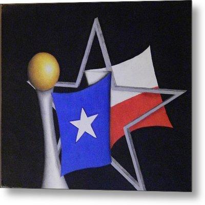 Texas Metal Print by Jose Benavides