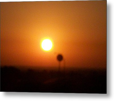 Texas Sunrise Metal Print by Adam Cornelison