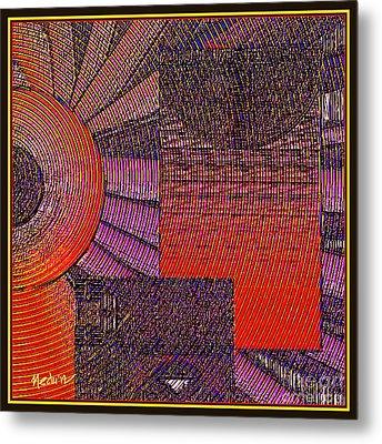 Textural 188 Metal Print by Nedunseralathan R