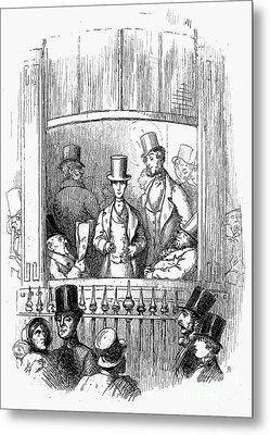 Thackeray: Newcomes, 1855 Metal Print by Granger