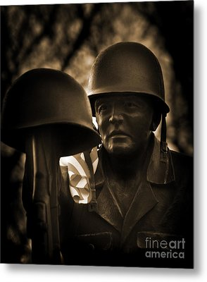 Metal Print featuring the photograph Thank You by Brian Duram