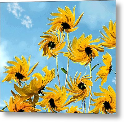 Metal Print featuring the photograph Thank You Vincent by Deborah Smith