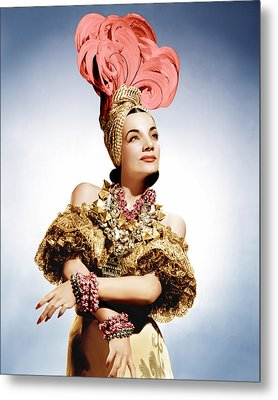 That Night In Rio, Carmen Miranda, 1941 Metal Print by Everett