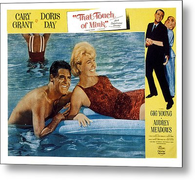 That Touch Of Mink, Cary Grant, Doris Metal Print by Everett