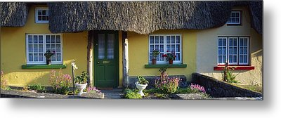 Thatched Cottage, Adare, Co Limerick Metal Print by The Irish Image Collection