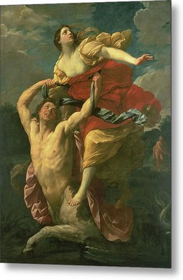 The Abduction Of Deianeira Metal Print by  Centaur Nessus