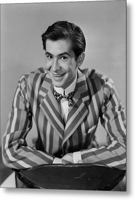 The Actress, Anthony Perkins, 1953 Metal Print by Everett