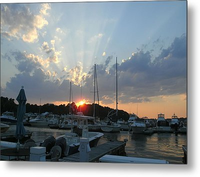 The Ahh Moment Metal Print