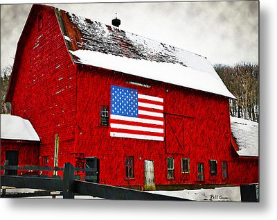 The American Dream Metal Print by Bill Cannon