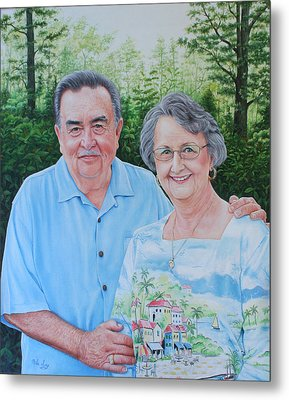 The Armstrongs Metal Print by Mike Ivey