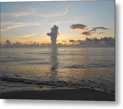 The Art Of Living Metal Print by Sheila Silverstein