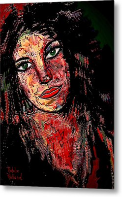 The Artist Metal Print by Natalie Holland