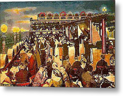 The Astor Hotel Roof Metal Print by Dwight Goss