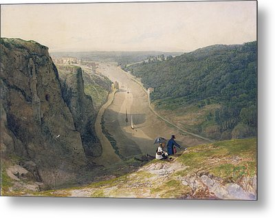 The Avon Gorge - Looking Over Clifton Metal Print