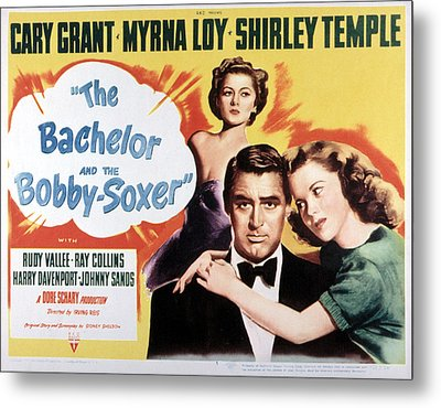The Bachelor And The Bobby-soxer, Cary Metal Print by Everett