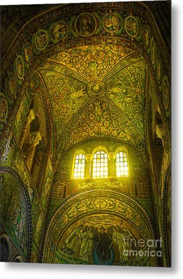 The Basilica Di San Vitale In Ravenna Metal Print by Gregory Dyer