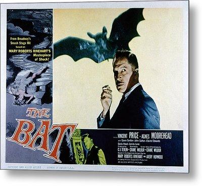 The Bat, Vincent Price, 1959 Metal Print