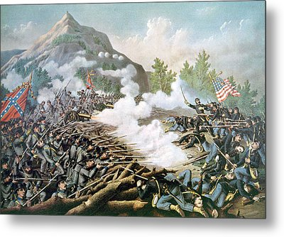 The Battle Of Kennesaw Mountain, June Metal Print by Everett