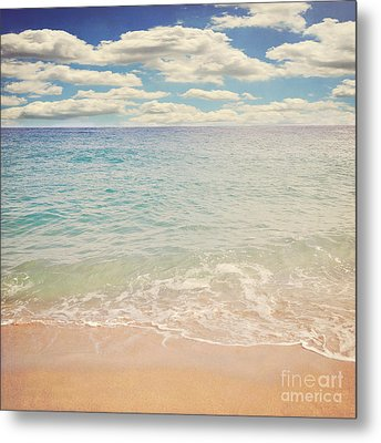 The Beach Metal Print by Lyn Randle
