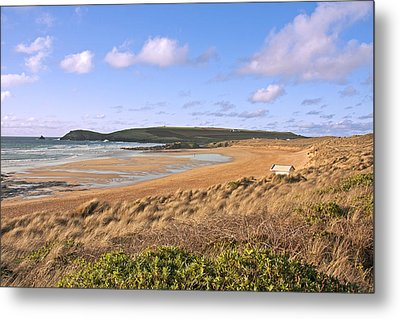 Metal Print featuring the photograph The Beach by Paul Scoullar