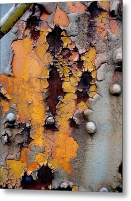 The Beauty Of Aging Metal Print by The Art With A Heart By Charlotte Phillips