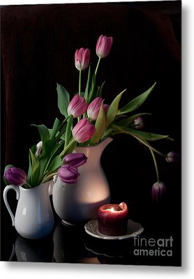 The Beauty Of Tulips Metal Print by Sherry Hallemeier
