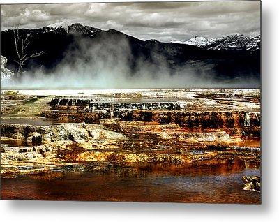 The Beauty Of Yellowstone Metal Print by Ellen Heaverlo