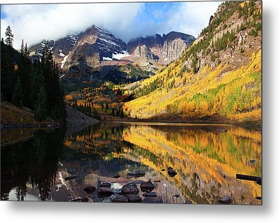 The Bells Are Ringlng Metal Print by Jim Garrison