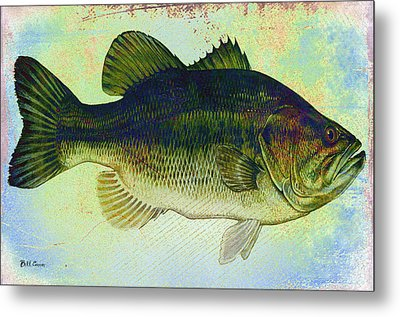 The Big Fish Metal Print by Bill Cannon