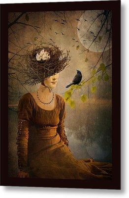 The Bird Watcher Metal Print