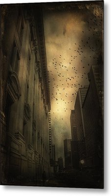 The Birds Metal Print by Peter Labrosse