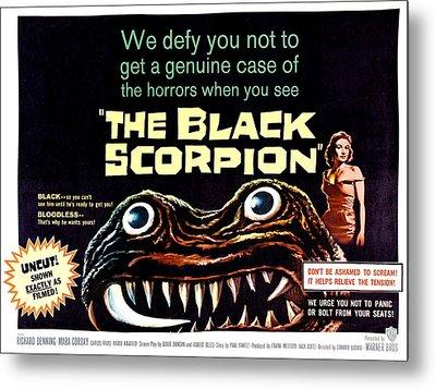 The Black Scorpion, On Right Mara Metal Print by Everett