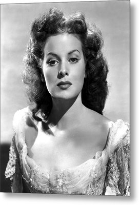 The Black Swan, Maureen Ohara, 1942 Metal Print by Everett
