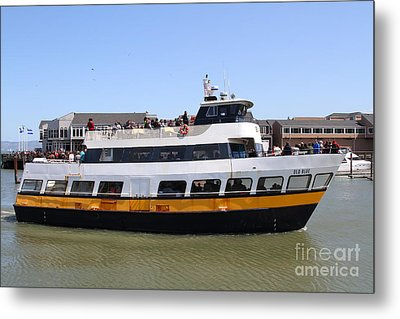 The Blue And Gold Fleet . Old Blue . San Francisco California . 7d14284 Metal Print by Wingsdomain Art and Photography