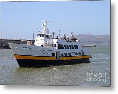 The Blue And Gold Fleet . Royal Star . San Francisco California . 7d14266 Metal Print by Wingsdomain Art and Photography