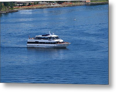 The Blue Of Puget Sound Metal Print