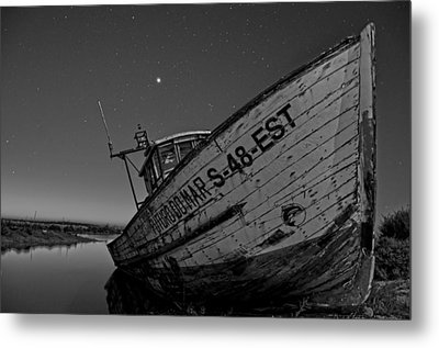 The Boat Metal Print by Armando Carlos Ferreira Palhau