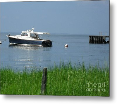 Metal Print featuring the photograph The Boat by Beth Saffer